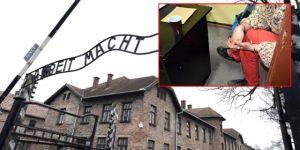 Nazi kampında bir tuhaf eylem: Koyun öldürüp, soyundular