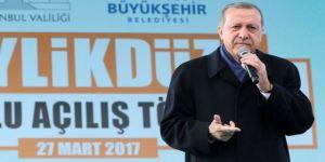 Erdoğan'dan Kılıçdaroğlu'na Hodri Meydan: İspat Edersen İstifa Edeceğim