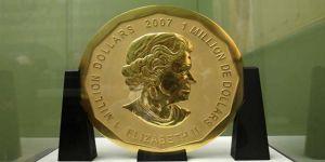 Almanya'da 100 kiloluk altın sikke çalındı