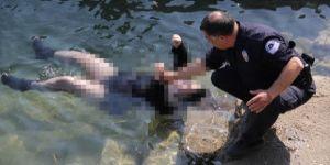 Baraj gölünde mini elbiseli, file çoraplı kadın cesedi bulundu