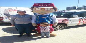 AK Parti'nin maskotu CUMHURCAN