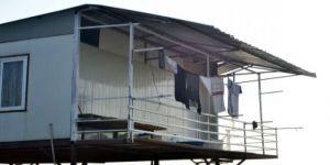 Katliam evinden geriye askıda asılı çamaşırlar kaldı
