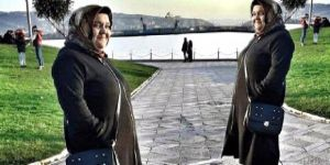 Eşinden boşanan kadın kendini doğal gaz borusuna astı
