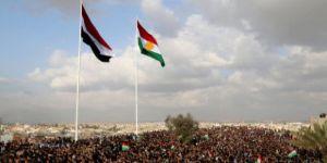 Barzani'nin partisinden bayrak kriziyle ilgili ilk açıklama!