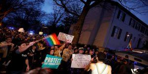 New York'ta Trump karşıtı gösteri