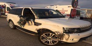 Sandıklı'da bir garip kaza