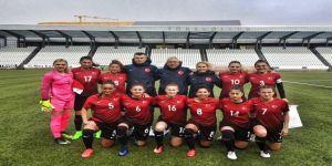 A Milli Kadın Futbol Takımı, Karadağ'ı mağlup etti