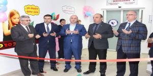 Farabi'de Yenidoğan Yoğun Bakım Ünitesi açıldı