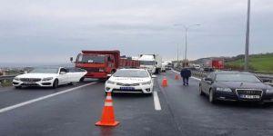 İş çıkışı feci kaza! TEM otoyolu Ankara istikametine kapandı