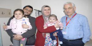 4 aylık Kerem bebek, ölüm kalım savaşından galip çıktı