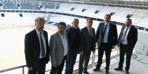 Murat Aydın stadyumu gezdi