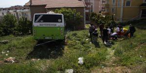 Freni patlayan yolcu midibüsü şarampole uçtu: 22 yaralı