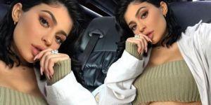 Kylie Jenner'dan ilginç dekolte