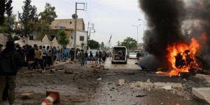 Azez'de bombalı saldırı: 5 ölü 10 yaralı