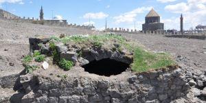 Kars'ta 16. yüzyıla ait buzhane ortaya çıktı