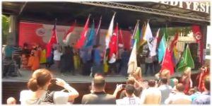 17'nci Türk Dünyası Ve Uluslararası Öğrenciler Şöleni Başladı