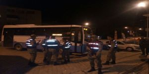 Özel Halk Otobüsüne Silahlı Saldırı