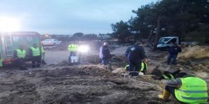 Ayvalık'ta Baski'den Arıtma Sorunu Çözümü İçin Dev Adım