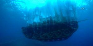 Askeri Tank Böyle Batırıldı