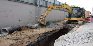 İstanbul'da Altyapı Çalışmalarında Göçük: 1 Yaralı