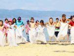 Engelli öğrenciler sahilde yarıştı!