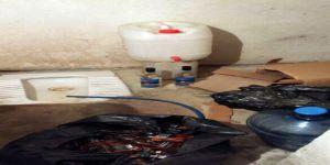 1 Milyon Tl'lik Kaçak İçki Tuvalet Hortumuyla Doldurulmuş