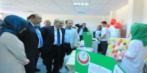 Şehit Osman Er İmam Hatip Ortaokulu Tübitak Bilim Fuarı Sergisini Açtı