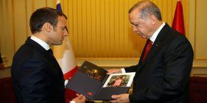 Erdoğan'dan Macron'a anlamlı dosya