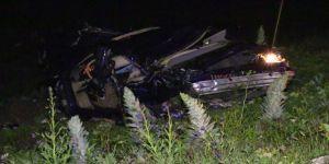 Yeni Aldıkları Otomobilleri Mezarları Oldu: 2 Ölü, 3 Yaralı