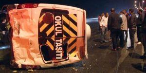 Zincirleme trafik kazası ! 10 Araç Birbirine Girdi