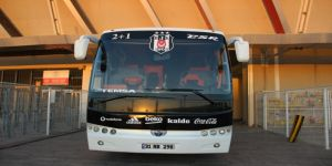 3 Yıldızlı Takım Otobüsü Maç Sonunu Bekliyor