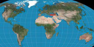 Dünyanın 300 milyon yıl önceki halinde Türkiye okyanus ülkesiymiş !