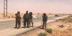 Haşdi Şabi, Suriye sınırına yerleşti