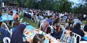 GTÜ ailesi iftar yaptı