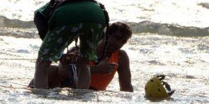 Sarp Levendoğlu kayaya çarptı
