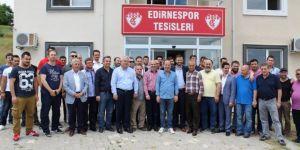 Edirnespor'da Başkan Savaş Üner Güven Tazeledi