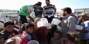 Azez Ve Cerablus'a 50 Bin Kişilik İftar Yemeği