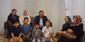 Başkan Toltar İftar Sonrası Ev Ziyaretlerine Devam Ediyor