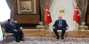 Tunus Dışişleri Bakanını Kabul Etti