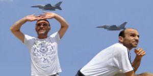 Jetler Alçak Uçtu, Vatandaşlar Tedirgin Oldu