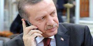 Cumhurbaşkanı Erdoğan, Macron Ve Katar Emiri İle Görüştü