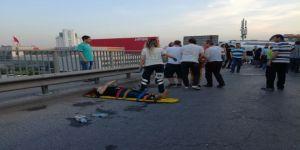 Cenazeye Giden Servis Minibüsü Takla Attı:Yaralılar Var