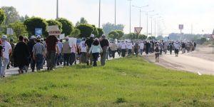 Belediye Başkanı Adalet Yürüyüşü'ne Katıldı