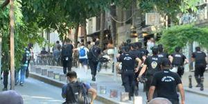 Firuzağa'da Lgbti'nin İzinsiz Eylemine Müdahale