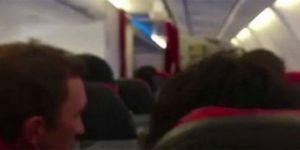 Uçak çamaşır makinası gibi sallandı! Pilot yolculara 'dua edin' dedi