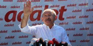 Kılıçdaroğlu: Yürüyüşümüzün adı adalet