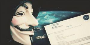 Anonymous'tan NASA iddiası!