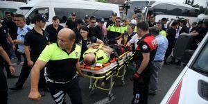 Kılıçdaroğlu'nun yürüyüşünde kaza!