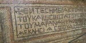 Mozaiğin sırrı çözüldü!