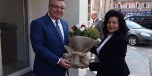 Muğla Valiliğine Atanan Civelek'ten Kesimoğlu'na Veda Ziyareti